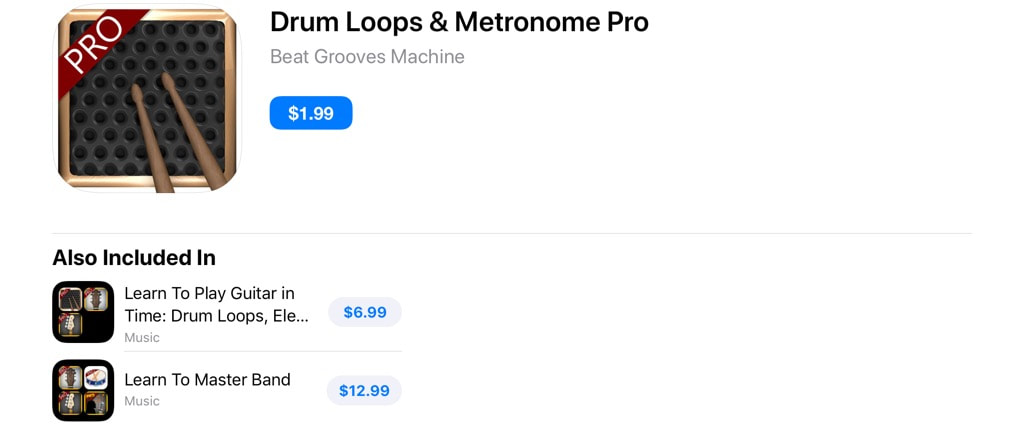Drum Loops & Metronome Pro v11 3 - APPS4IDEVICES REBIRTH